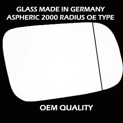Wing Mirror Glass For PORSCHE Cayenne Fits to reg 2011 TO 2017 Wide Angle RHS
