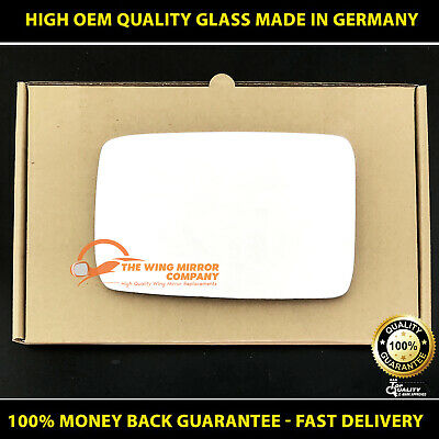 wide angle Left passenger side wing mirror glass for Daihatsu Trevis 2004-2009