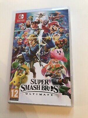 Nintendo Switch Super Smash Bros Ultimate - 12 years - Very Good Used Condition