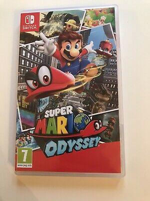 Nintendo Switch Super Mario Odyssey - 7 years - Very Good Used Condition