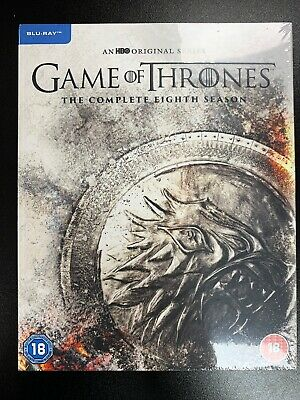 Game of Thrones: Season 8 (2019) Blu Ray - Official UK Stock Brand New & Sealed