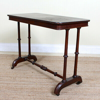 Antique Console Table 19th Century Sofa Table Victorian Side Table