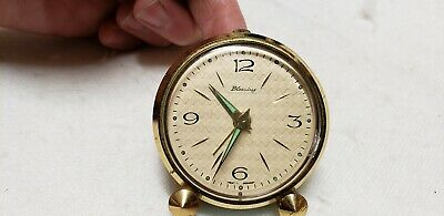 Vintage, West German, Blessing Alarm Clock