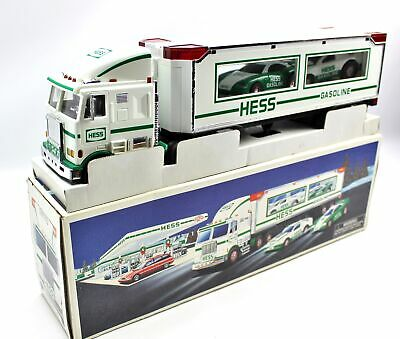 1997 HESS Toy Truck & Racers Friction Motor Race Cars