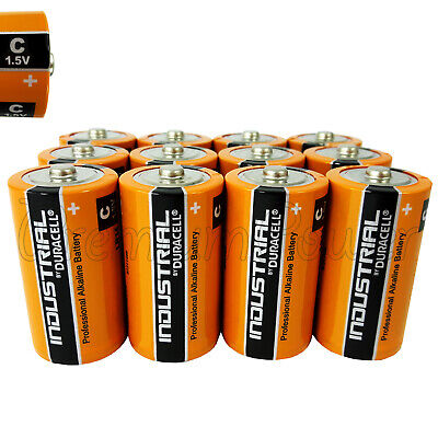 12 Duracell Taille C Piles Alcaline 1.5V Industriel Procell LR14 MN1400