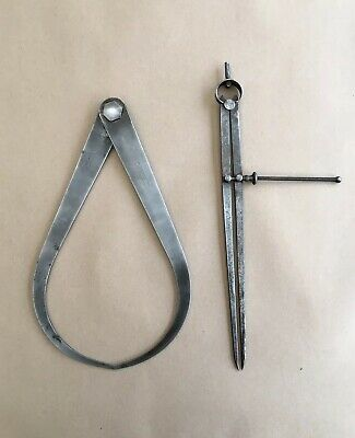 """Moore & Wright 13"""" Spring Legged Divider And 13"""" Caliper"""