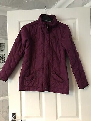 Regatta Great Outdoors Purple Quilted Jacket Age 11-12 Years
