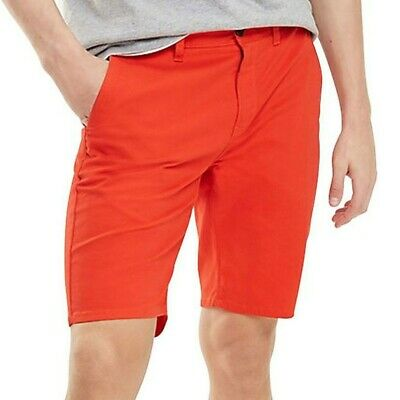 Bermuda Rosso Uomo Tommy Jeans Essential Rosso