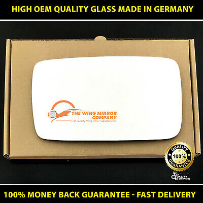 Left Side Covex Wing Mirror Glass For Mercedes Commercial Vito Fits To Reg 2011
