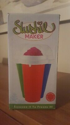 Slushie Maker Cup red or blue