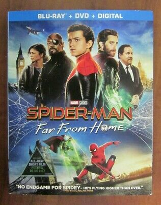 Spiderman Far From Home 2019 Blu-ray/DVD & Digital sealed