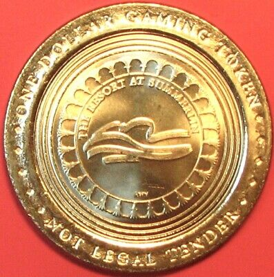 $1 Casino token. Resort at Summerlin, Las Vegas, NV. J57.