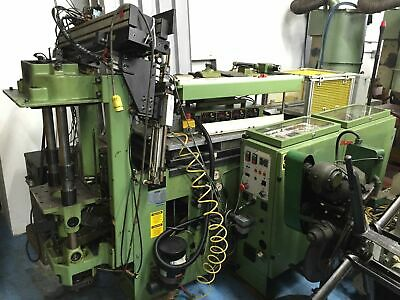 Arburg Allrounder 221-50-250 230V Injection Molding Machine New 98 W/Spru Picker