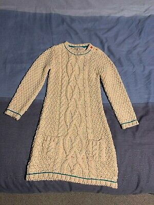 Girls Marks & Spencer Chunky Knitted  Dress - Never Worn Age 5-9