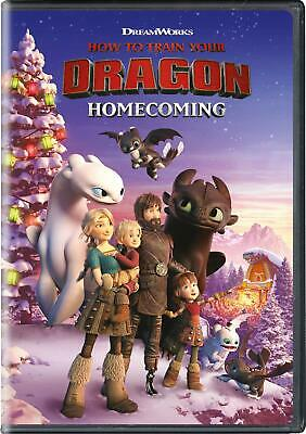 How to Train Your Dragon Homecoming DVD