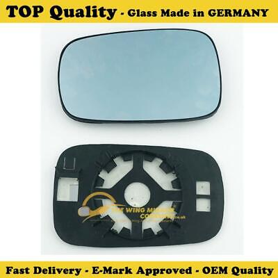 Renault Laguna Wing Mirror Glass Silver, Heated & Base, Left Hand Side,2001>2007