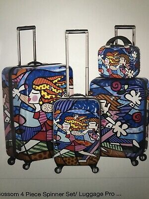 Heys USA Luggage Britto ....4-pc Set.... Spring Love Polycarbonate & Expandable