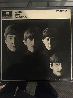 The Beatles - With The Beatles - UK 1963 Stereo Parlophone LP Dominion Belinda