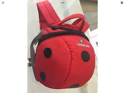 Littlelife Ladybird Backpack & Cover No Reins