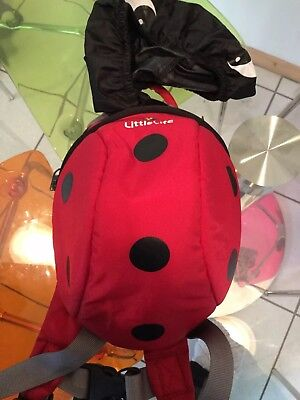 Littlelife Ladybird Backpack & Rain Cover