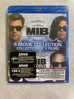 NEW Men In Black 4 Movie Collection Blu Ray Digital of MIB International SEALED