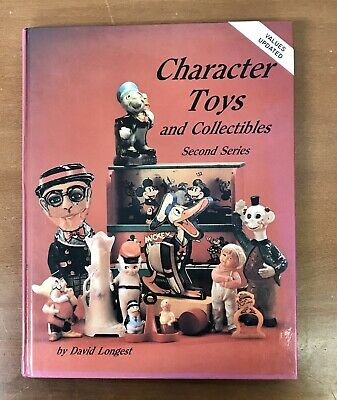 Collectors Antique Character Toys Reference Price Guide Book Disney Comic Hereos