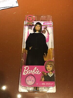 New!!! Barbie Career of The Year Judge Doll, Short Brown Hair FAST SHIP