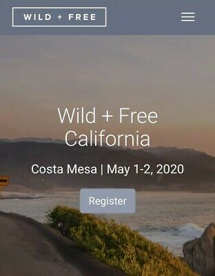 Wild + Free CA Homeschool Conference Ticket (NOW SOLD OUT!)