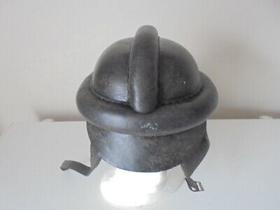 WW11 GERMAN  leather motorcycle helmet