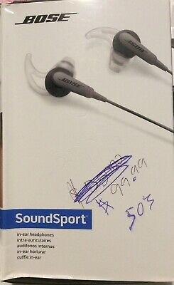 Bose SoundSport Wired In-Ear Headphones 741776-0140 Charcoal (NEW)