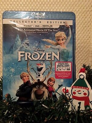 """FROZEN❄️ (Blu-ray+DVD+Digital) """"Collector's Edition"""" *SEALED 🚛 FREE SHIPPING❗️"""