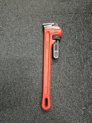 """Ridgid Pipe Wrench Aluminum 18"""" Heavy Duty - 818 - Made in USA"""