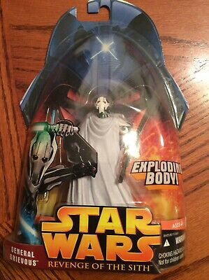Star Wars General Grievous #36 Revenge Of The Sith ROTS Action Figure 2005