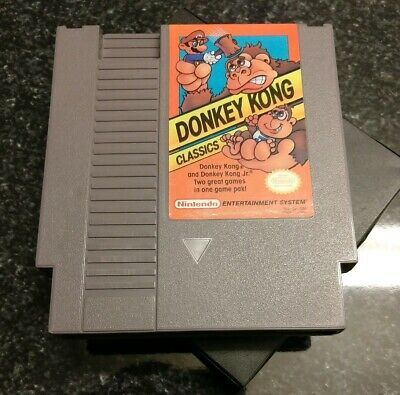 Donkey Kong Classics (Nintendo Entertainment System 1988) NES Tested & Working