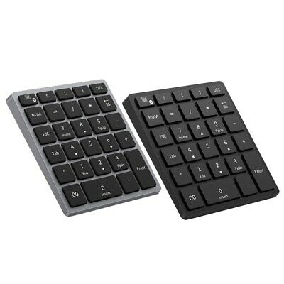 Numeric Keypad Rechargeable, Portable Wireless Bluetooth 28-Key Number Pad A4L2