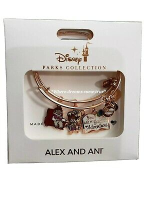 Disney Alex & And Ani UP Carl Ellie Greatest Adventure Rose Gold Bracelet (NEW)