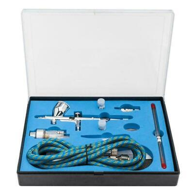 Modern Dual Action 3 Airbrush Kit Air Compressor Craft Paint Art Spray Gun US