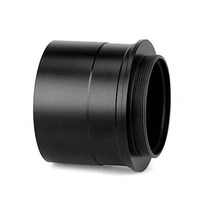 "Black 2"" to T2 Telescope Eyepiece Mount Adapter w/ Thread to Accept 2"" Filter M0"