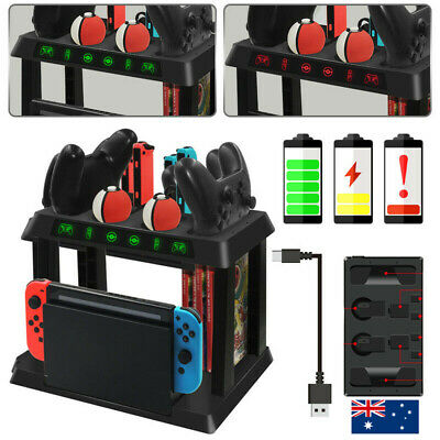 For Nintendo Switch NS Joycon Controller Console Storage Bracket Holder Charger