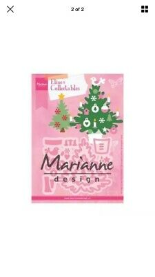 Marianne Design Collectables Elines/'s Christmas Tree Cutting Die Set COL 1459