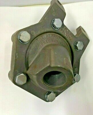 "P52935-8 Rexroth Pneumatic Quick Exhaust Valve 1"" NPT  Max. 150 psi"