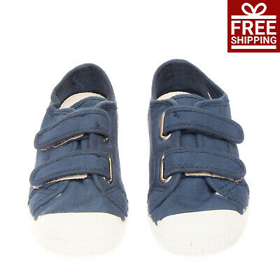 DOCKSTEPS Canvas Sneakers Size 28 UK 10 US 11 Two Tone Textured Trim Logo