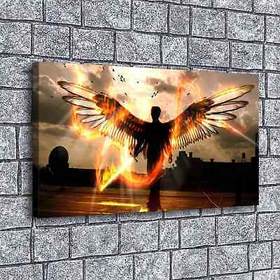 """16""""x30""""Send an Angel HD Canvas prints Painting Home Decor Picture Room Wall art"""