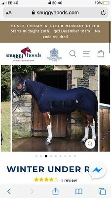 Snuggy Hoods Winter Under Rug for Horse & Pony - Tummy Coverage