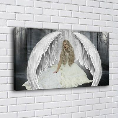 """16""""x30""""Angels Wings HD Canvas prints Painting Home Decor Picture Room Wall art"""