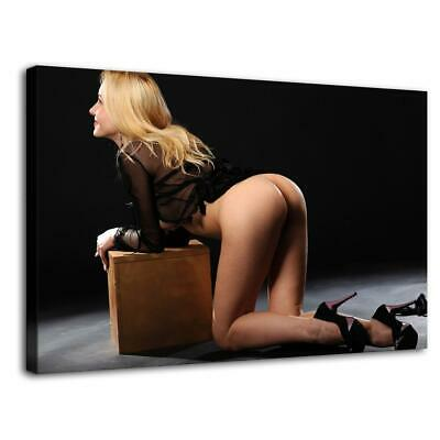 "16""x26""Nude Woman HD Canvas prints Painting Home Decor Picture Room Wall art"