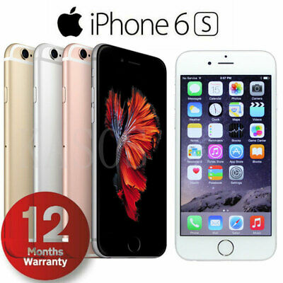 Apple iPhone 6S 16GB /32GB /64GB/128GB Unlocked Smartphone New (other) Xmas Gift