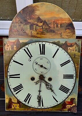 Antique Long Case Grandfather Clock 8 day works circa 1830
