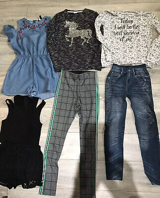 Bundle Of Girls  Clothes Age 14-15 Years Most Of New Look