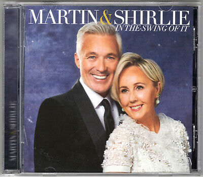 Martin & Shirlie Kemp - In The Swing Of It CD (2019) *Signed*